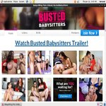 Bustedbabysitters.com Sign Up