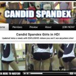 Candidspandex Short Shorts