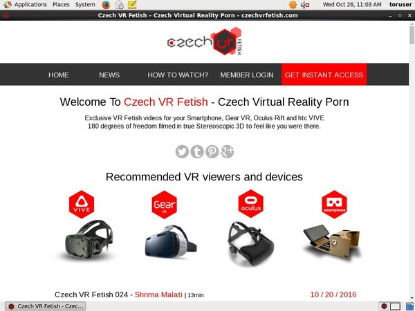 Czech VR Fetish Premium Account