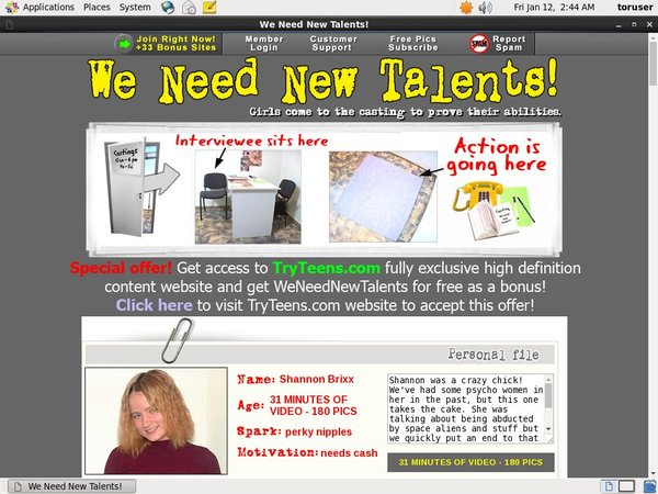 How To Get Free We Need New Talents