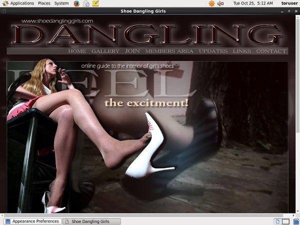 Join Shoedanglinggirls For Free