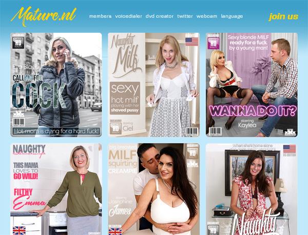 Mature.nl Discount Account