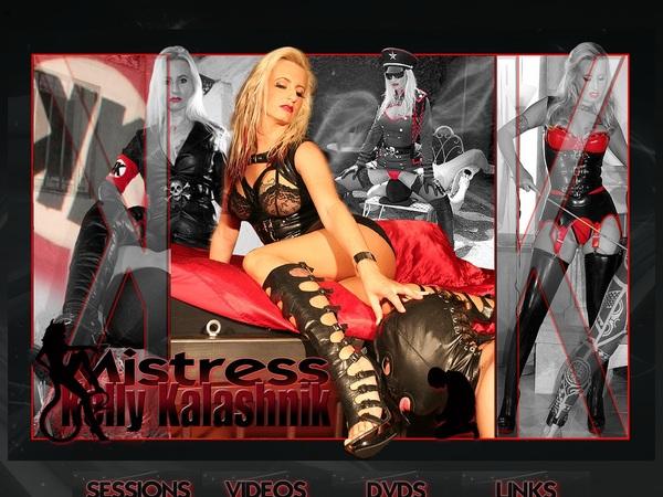 Mistress Kelly Kalashnik Account And Password