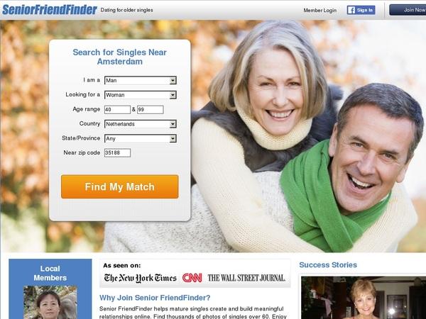 Seniorfriendfinder Cuentas