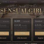 Sensual Girl Trial Membership