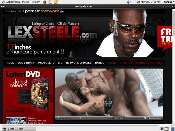 User Lexsteele.com