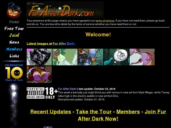 Fur After Dark With Credit Card