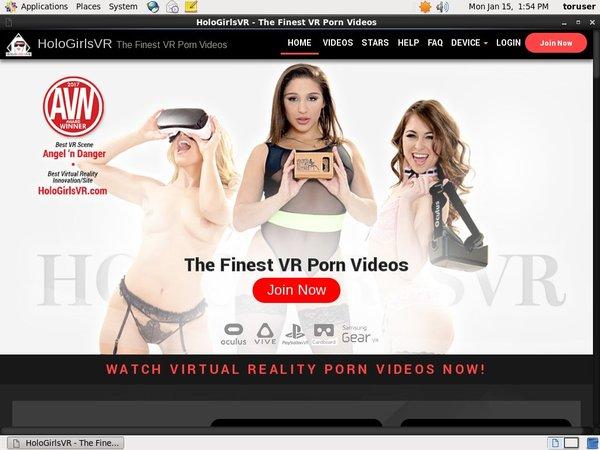 Holo Girls VR 注册帐号
