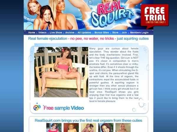 Realsquirt.com Best