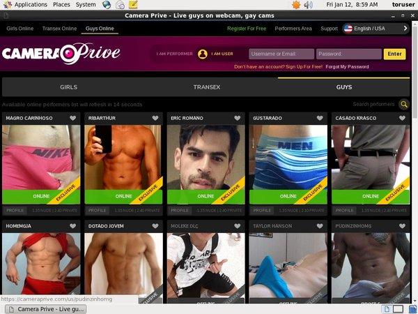 CameraPrive Gay Webcams Premium Acc