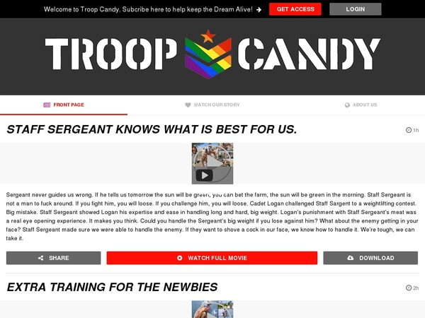 Troopcandy Wire Payment