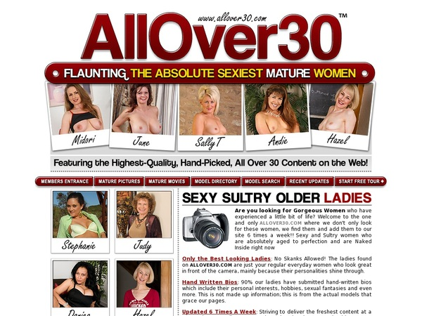 Allover30.com Premium Passwords