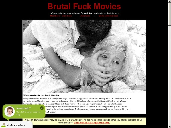 Brutal Fuck Movies Payment Methods