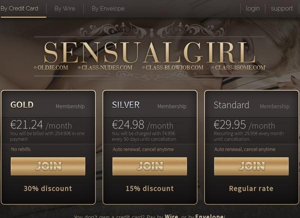 Sensualgirl Get Membership