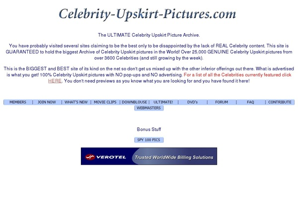 Celebrity Upskirt Pictures Bank