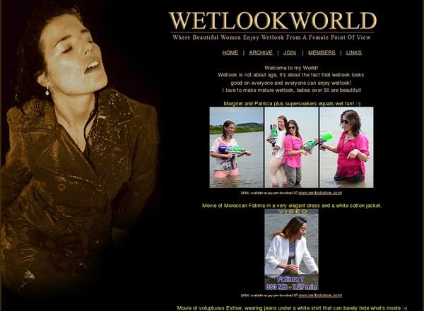 Wetlookworld.com Accounts Passwords