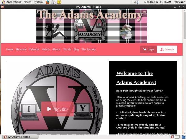 Accounts Ivy Adams