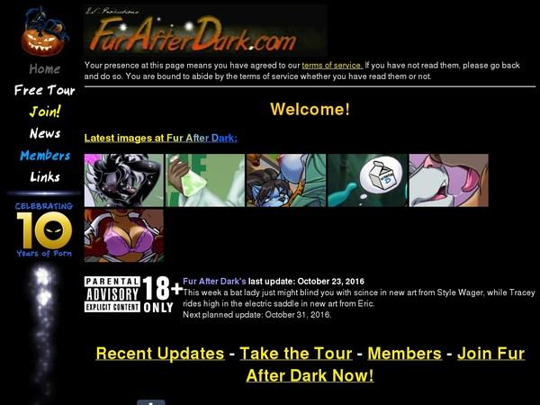 Fur After Dark Login And Password