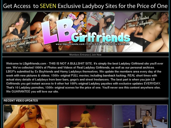 LB Girlfriends Special Offer