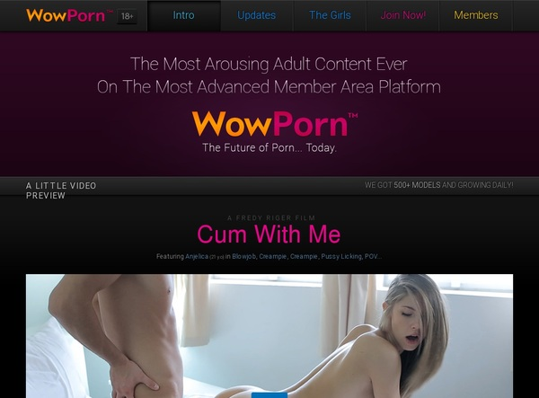 Wowporn.com With AOL Account