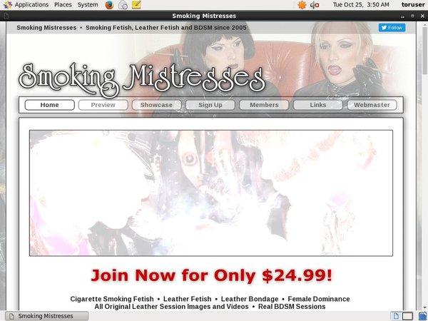 Join Smokingmistresses For Free