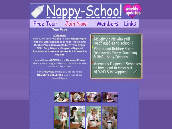 Premium Nappy School Pass