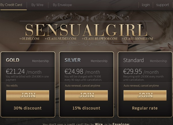 Get Sensualgirl.com Password